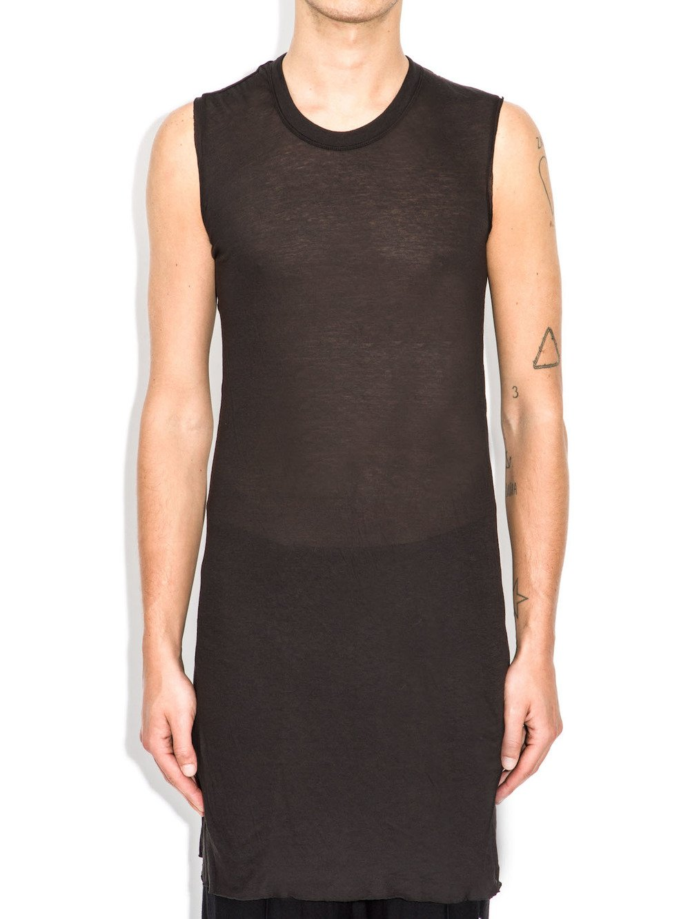 rick owens sleeveless tee