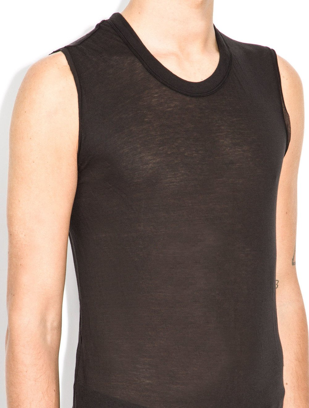 rick owens basic sleeveless tee