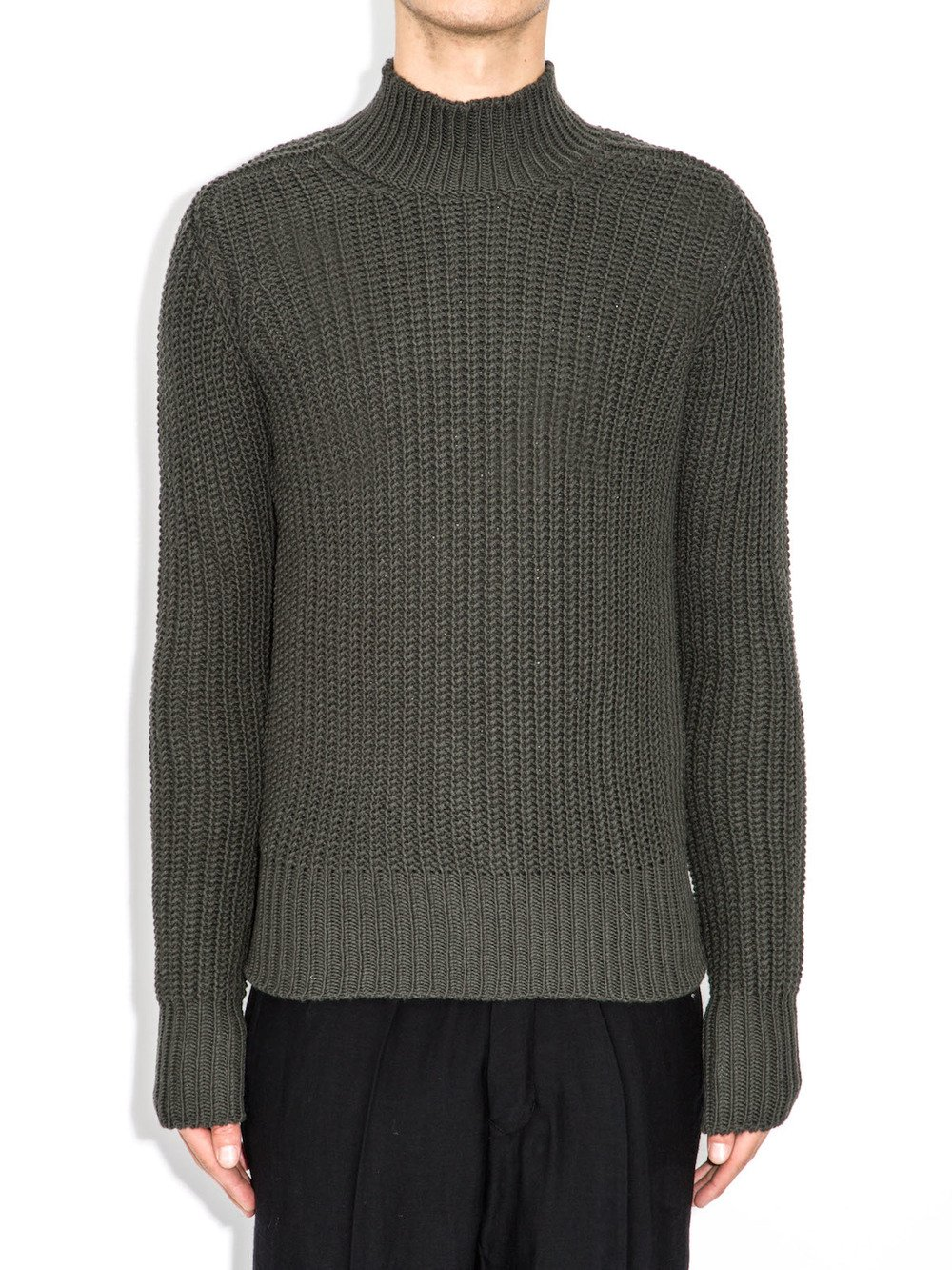 rick owens grey sweater