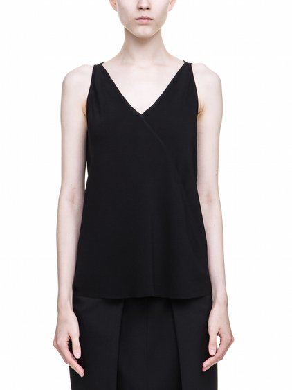 RICK OWENS KINGA TOP IN BLACK