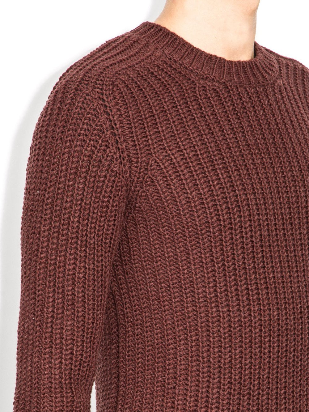 rick owens fw14 long sleeves sweater