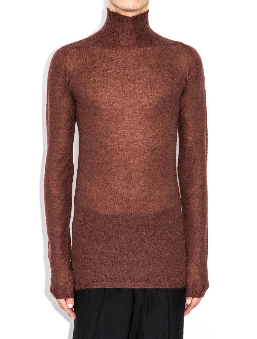 rick owens blood sweater