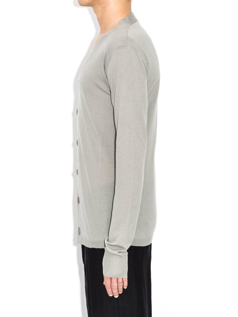 rick owens long sleeves cardigan