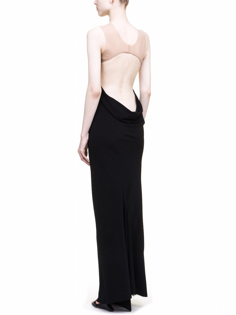 Rick Owens Alyona gown Popular Huge Surprise Cheap Eastbay sGrms