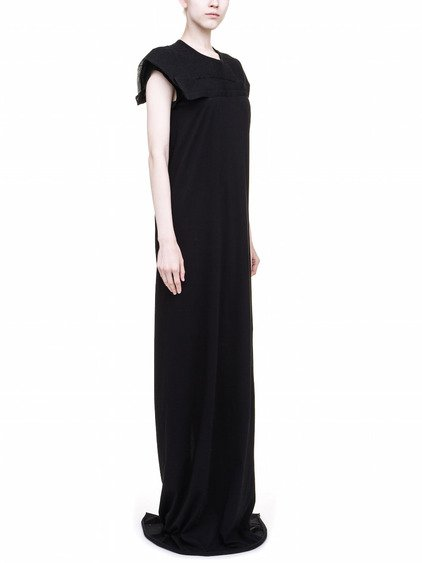 RICK OWENS SCAFFOLDING DRESS IN BLACK