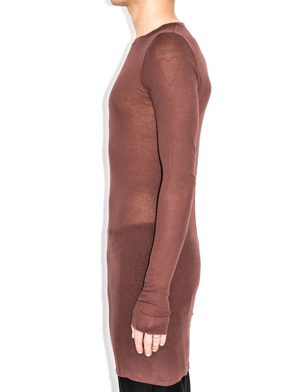 rick owens fw14 red sleeve