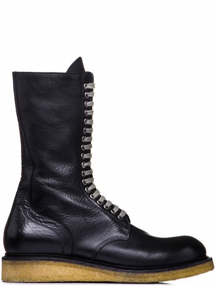 RICK OWENS ARMY BOOT PARA SOLE IN BLACK