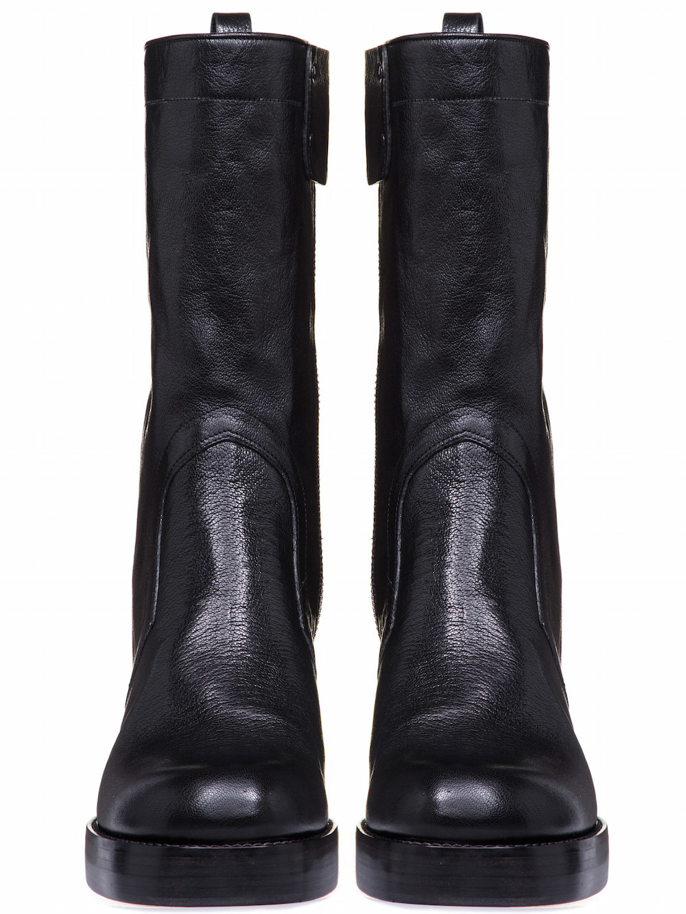 RICK OWENS CHUNKY BOOTS IN BLACK