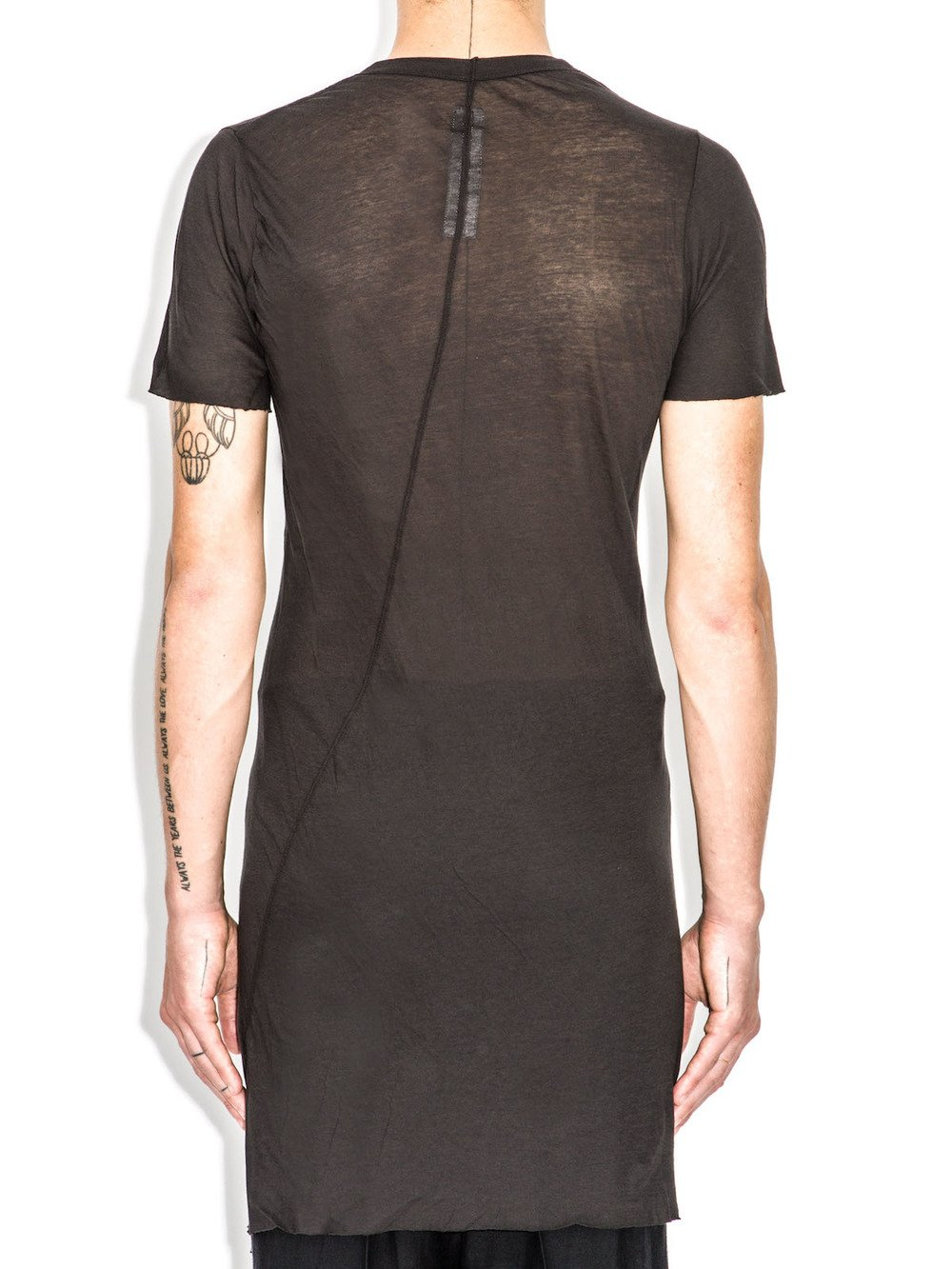 rick owens black t-shirt