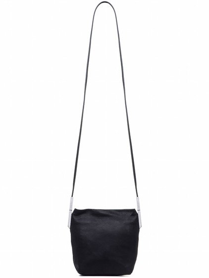 RICK OWENS SMALL ADRI BAG IN BLACK CALF LEATHER