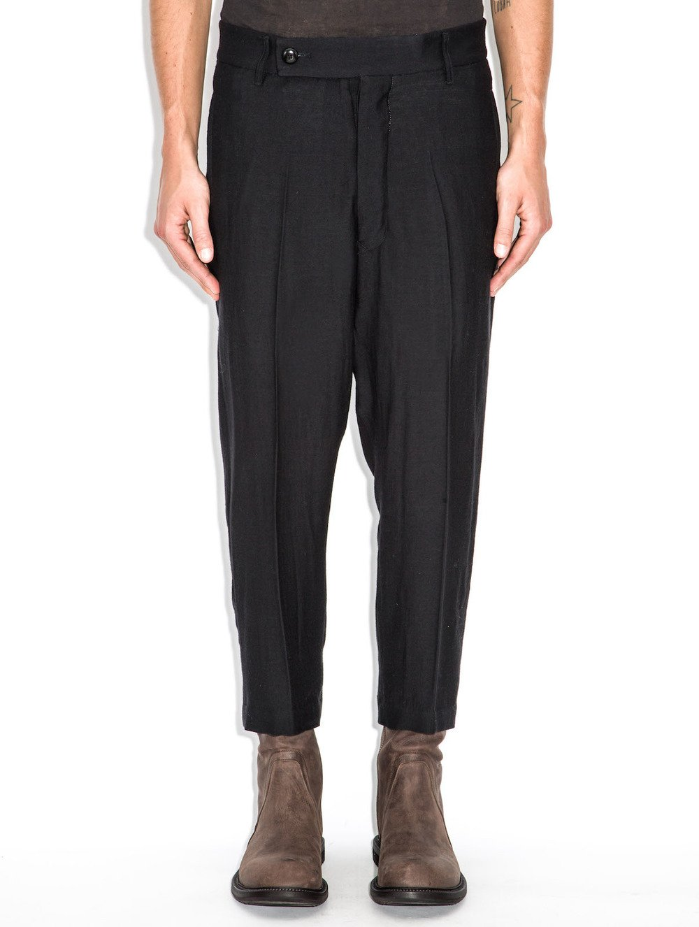 rick owens black trousers