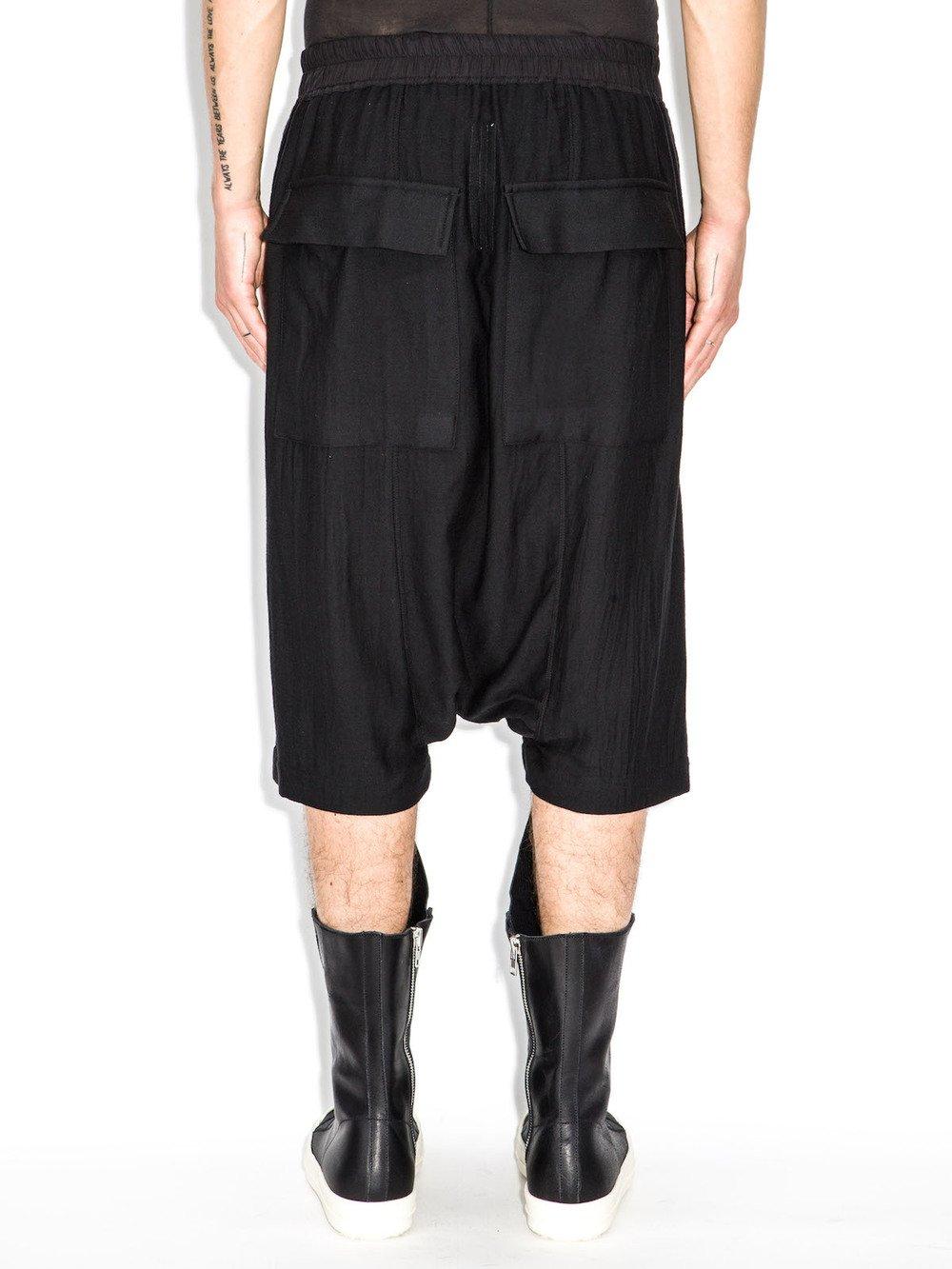 rick owens boxer pod shorts