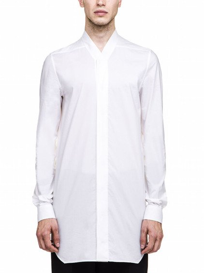 RICK OWENS SHIRT IN WHITE