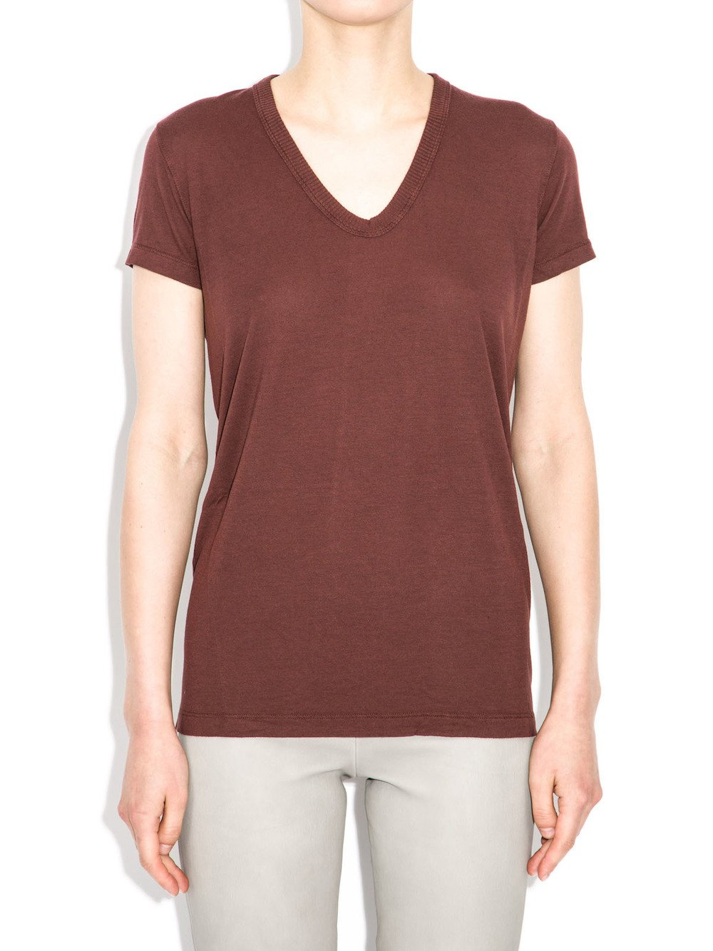 rick owens v neck top