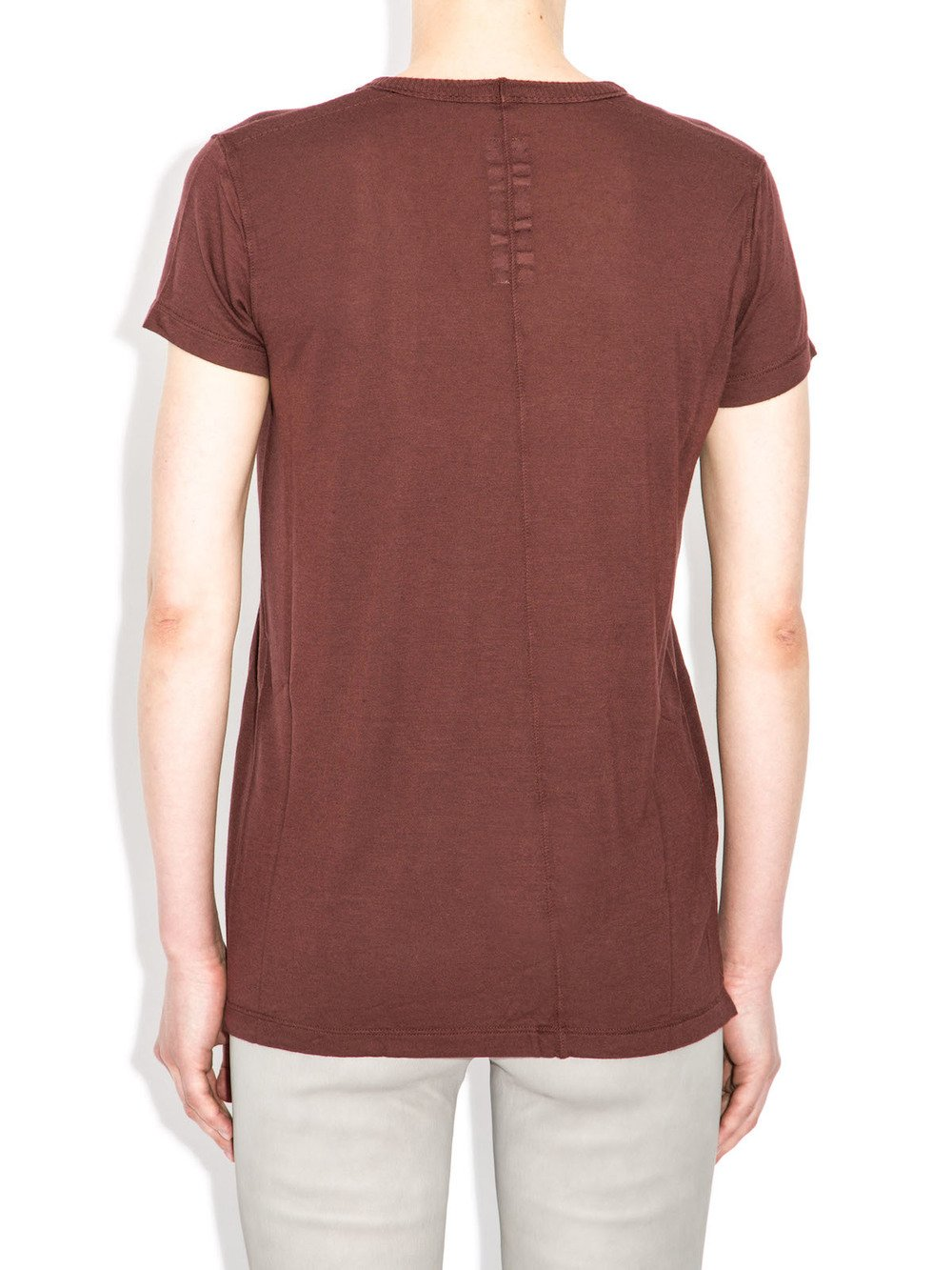 rick owens fw14 blood red top