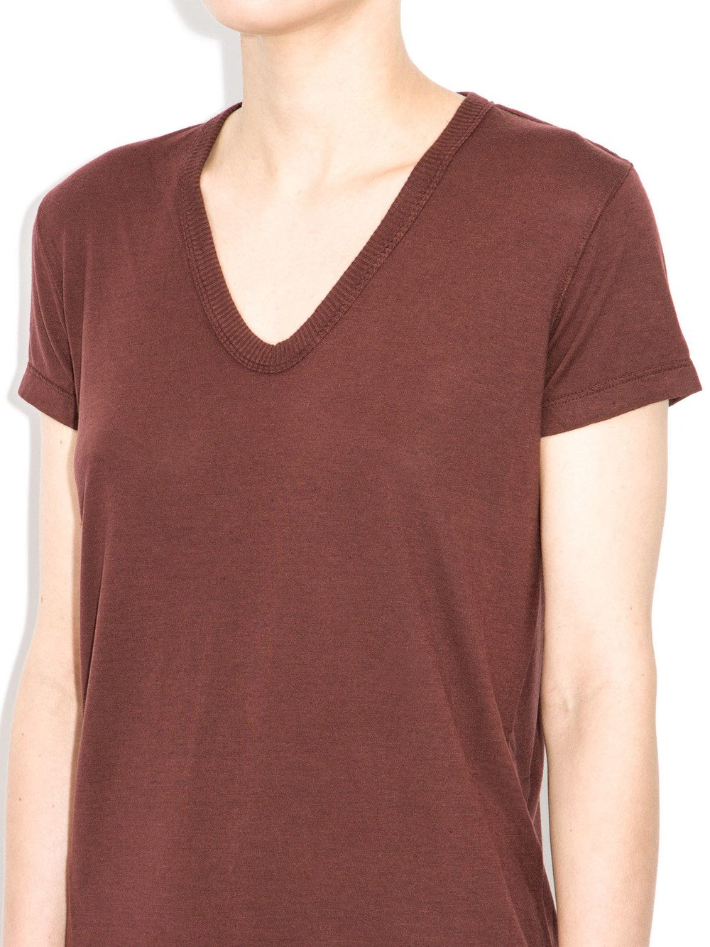 rick owens moody blood red top