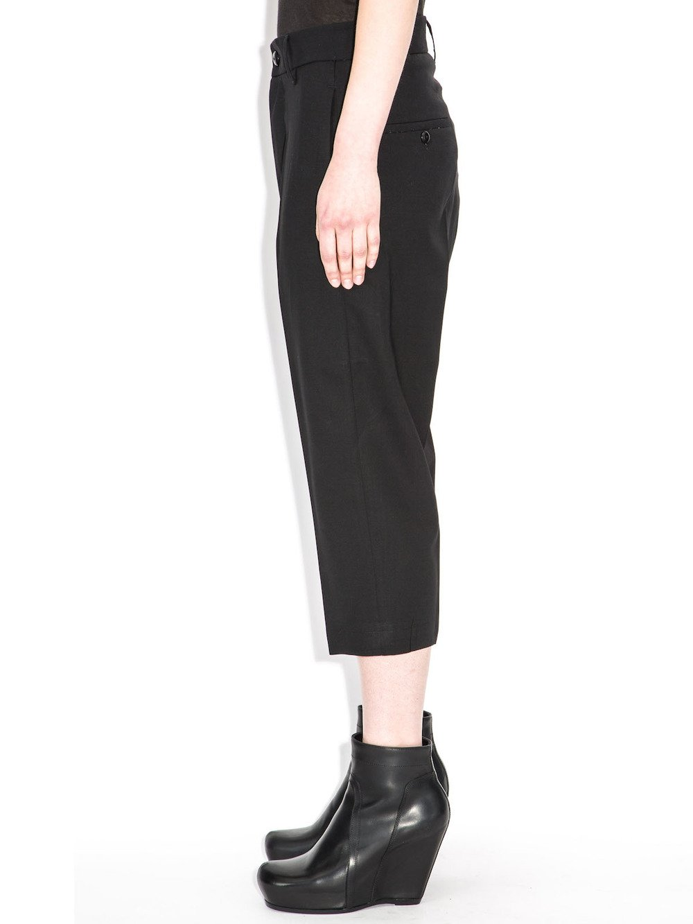 rick owens black trousers