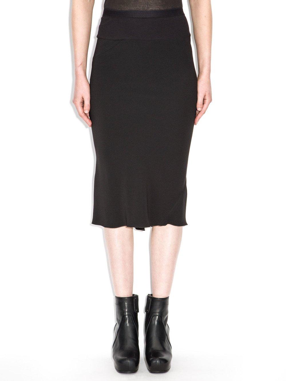 rick owens knee-lenght skirt