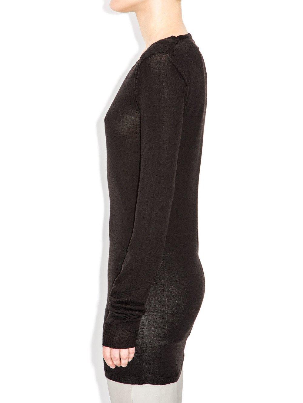 rick owens black long sleeves top