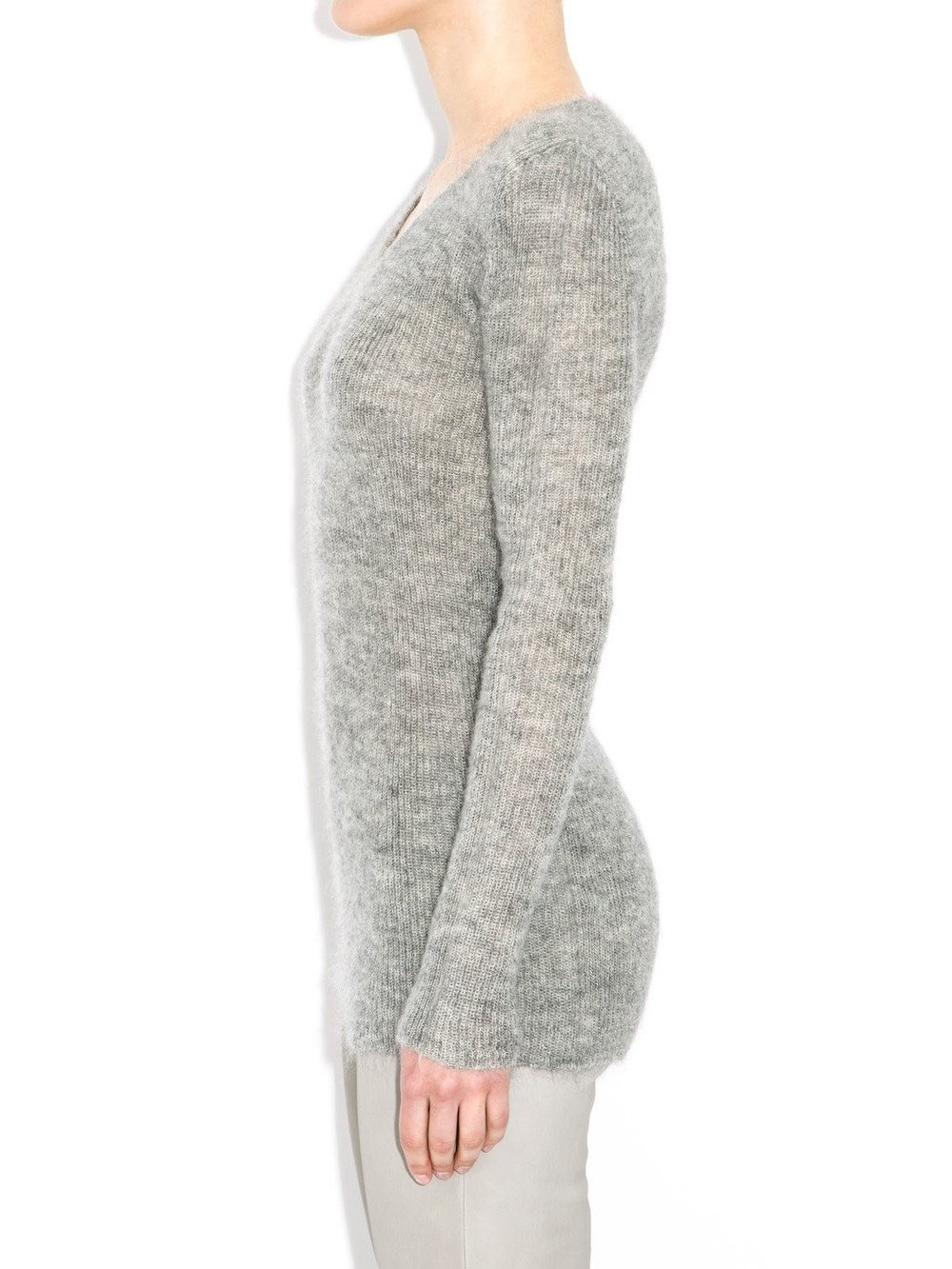 rick owens grey sweater