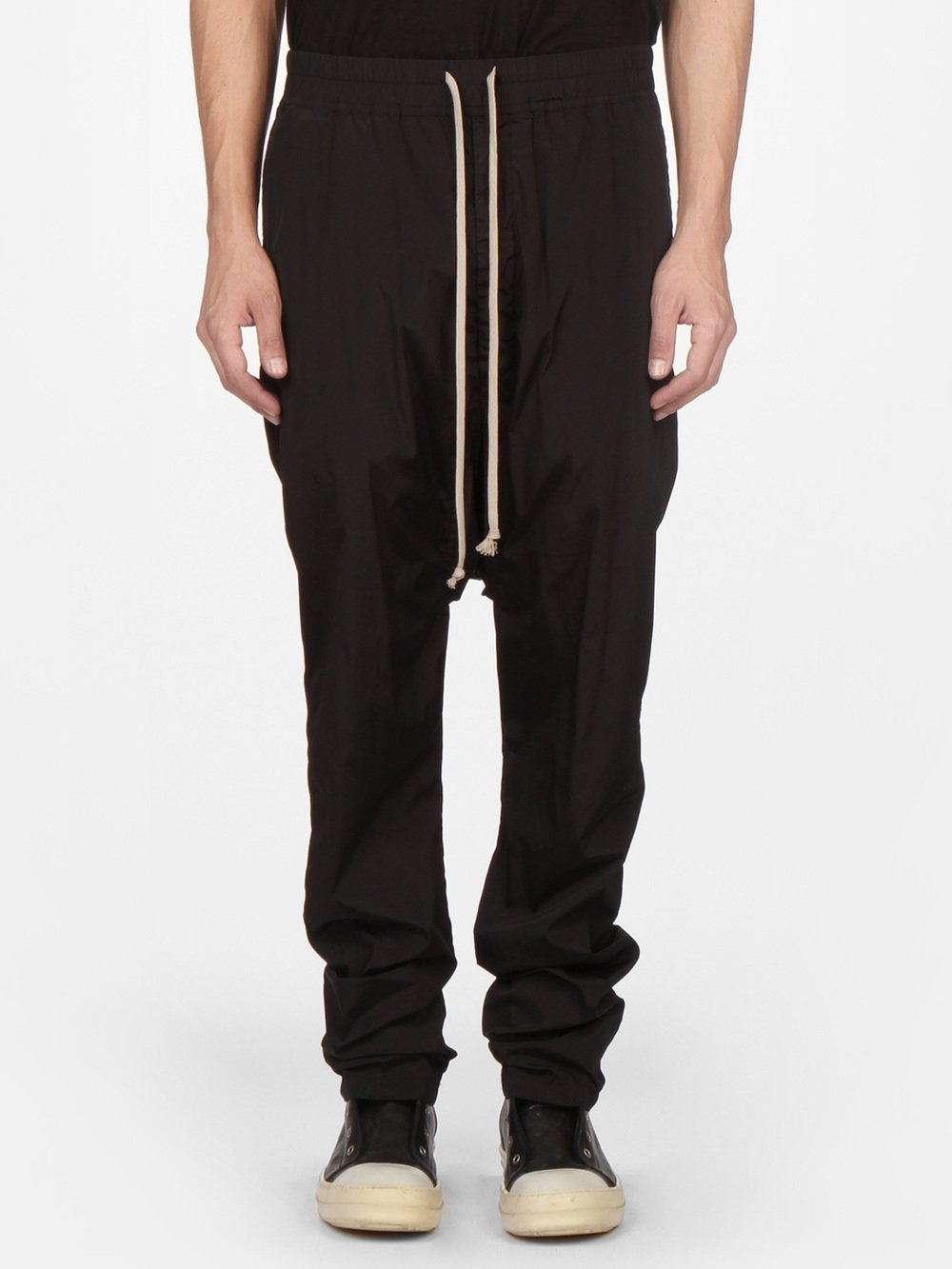 RICK OWENS DRKSHDW - LONG DRAWSTRING TROUSERS