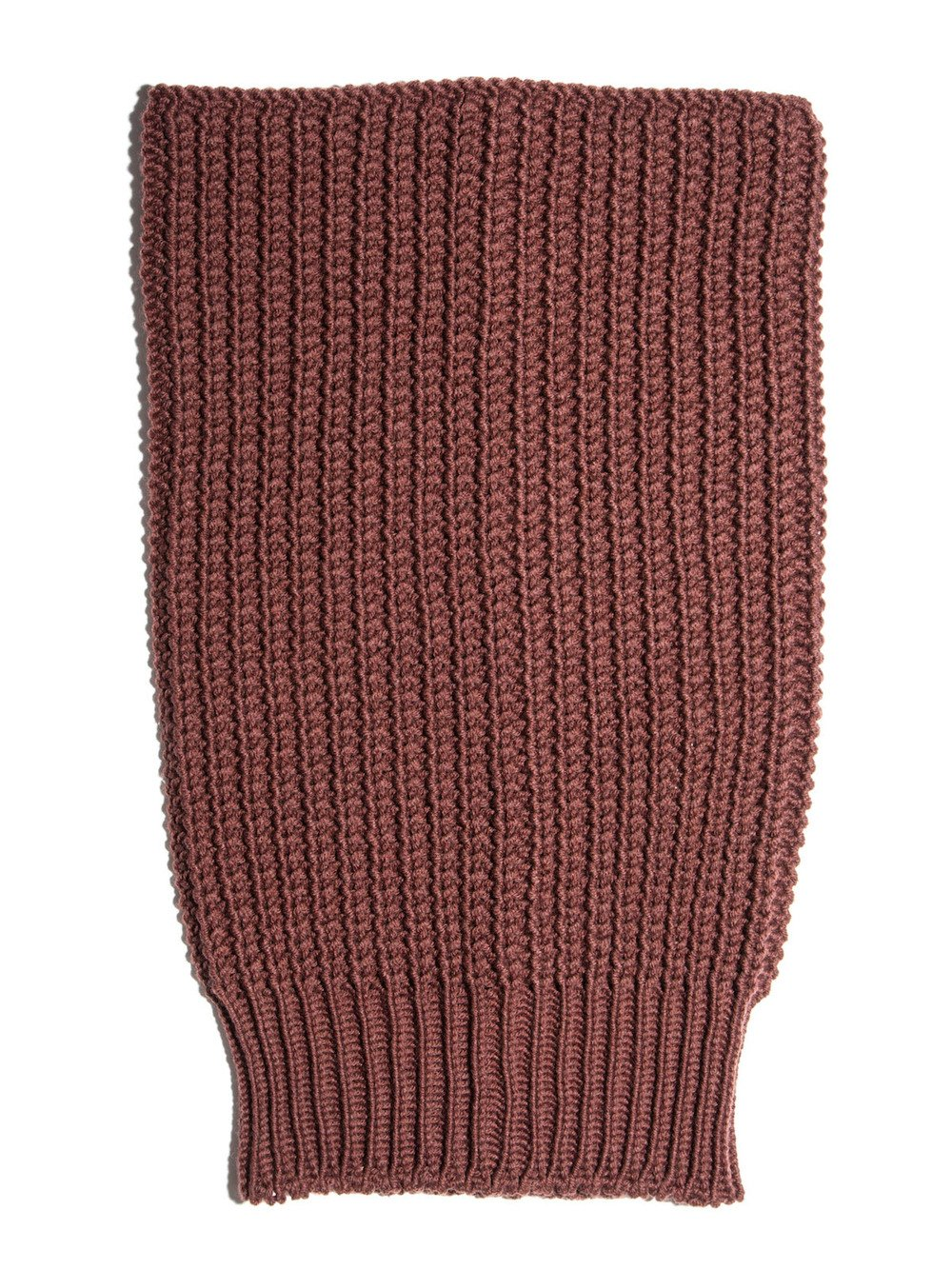 rick owens blood red ribber neck tube
