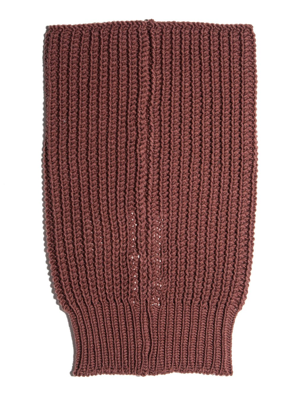 red wool neck tube