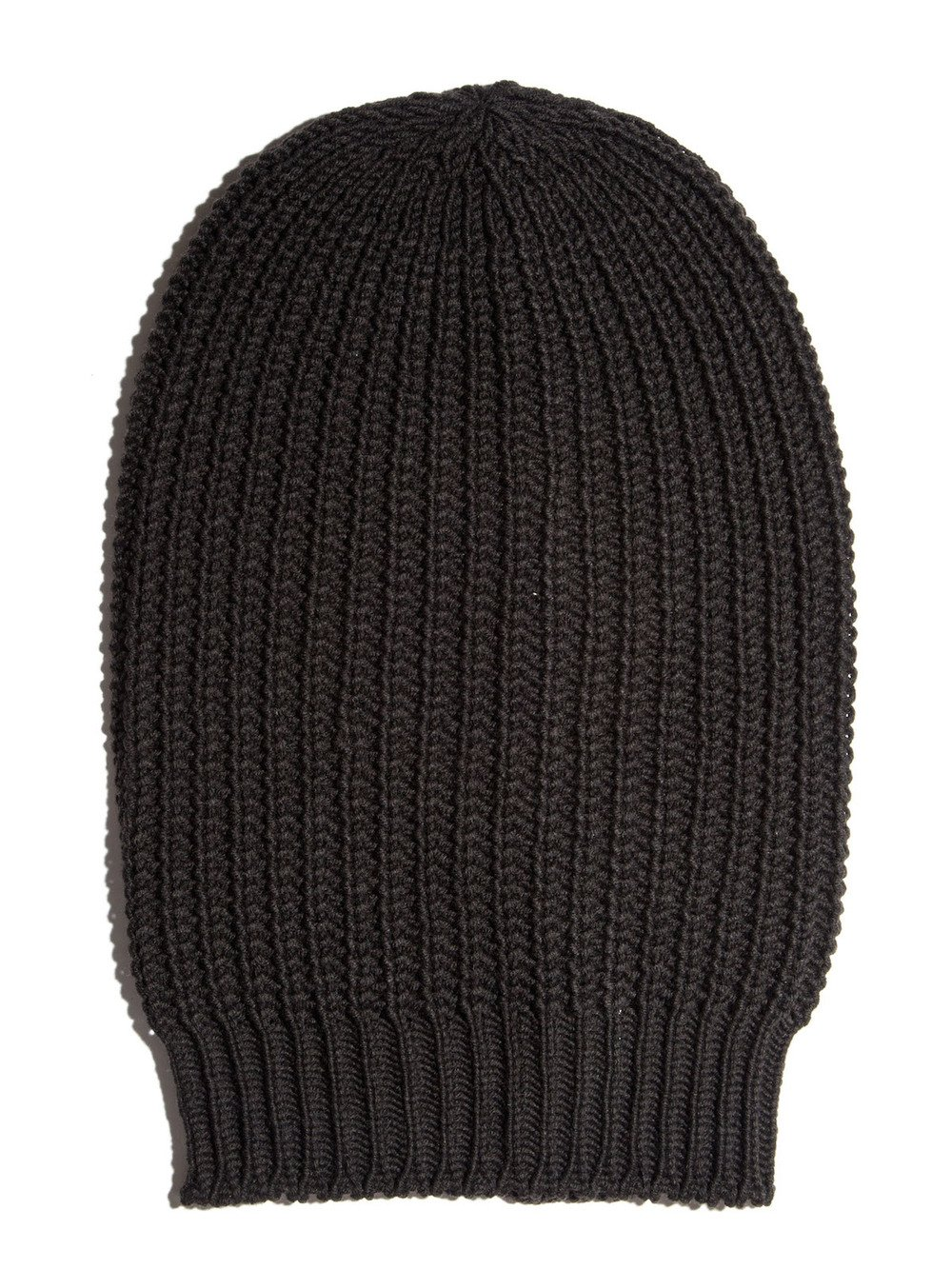 rick owens black wool beanie