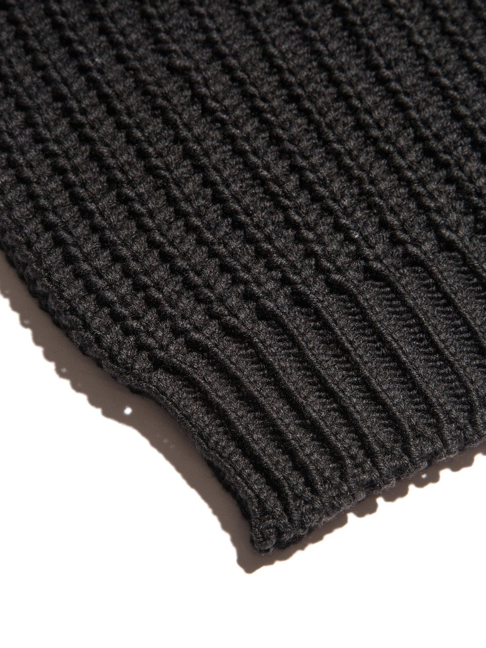 ribbed stretch-fit beanie