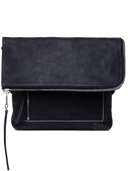 RICK OWENS SMALL MESSENGER BAG IN BLACK