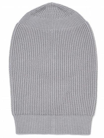 RICK OWENS FW17 GLITTER BIG HAT IN FOG GREY