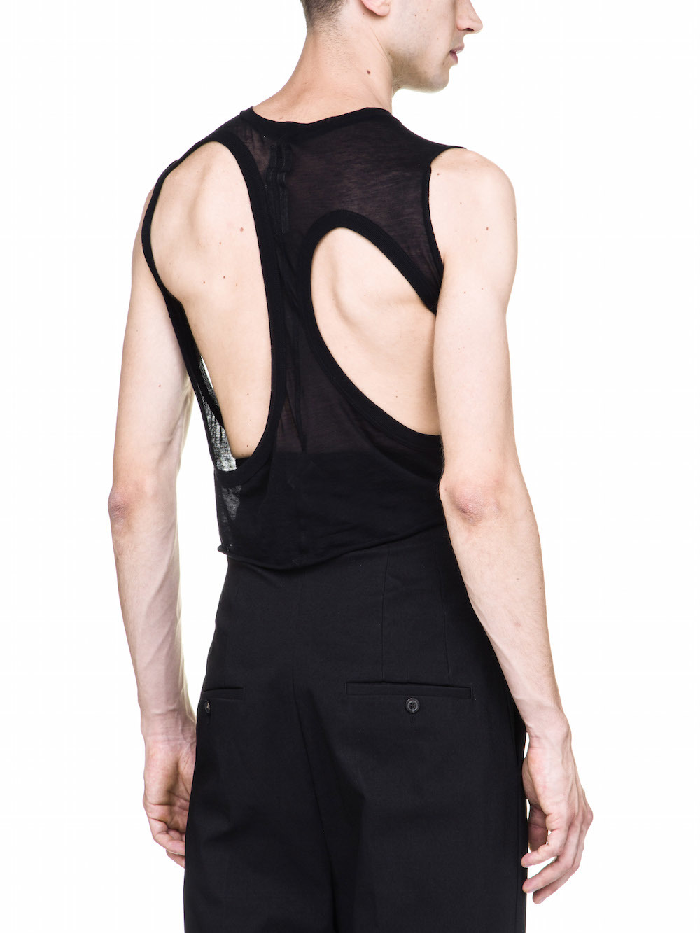 RICK OWENS MB II TOP IN BLACK