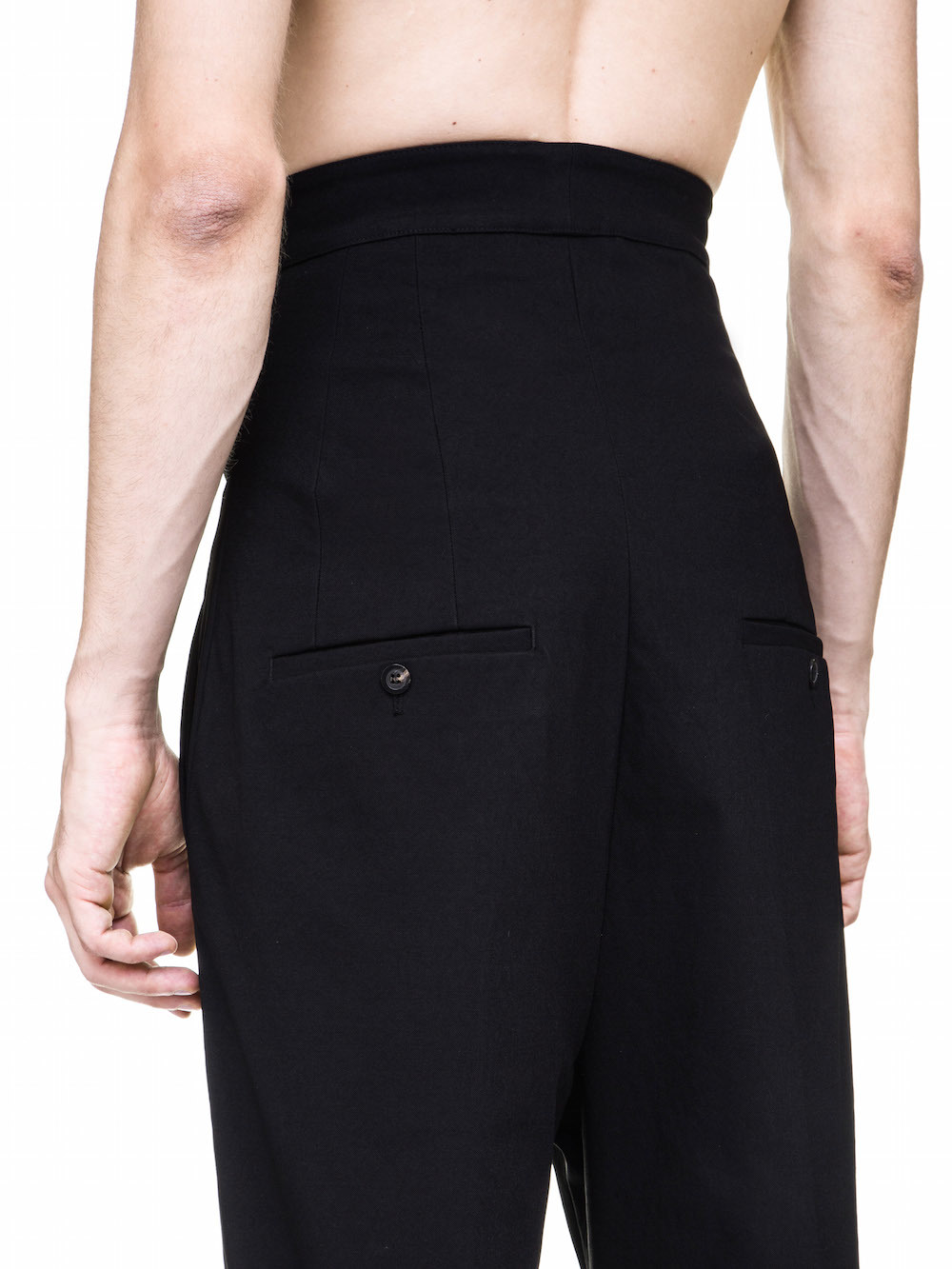 RICK OWENS OFF-THE-RUNWAY DIRT JEAN IN BLACK