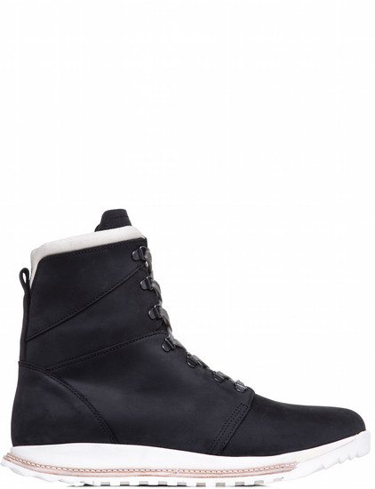 RICK OWENS LACE UP DIRT GRAFTON SHOES IN BLACK
