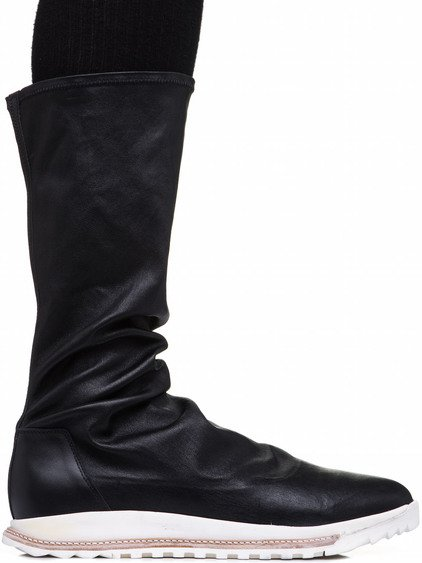 RICK OWENS DIRT GRAFTON SOCK SHOES IN BLACK