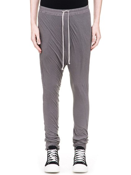 DRKSHDW DOUBLE LEGGINGS IN DUST GREY LIGHT COTTON