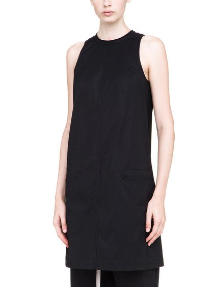 DRKSHDW DIRT TUNIC IN BLACK HEAVY WEIGHT POPLIN