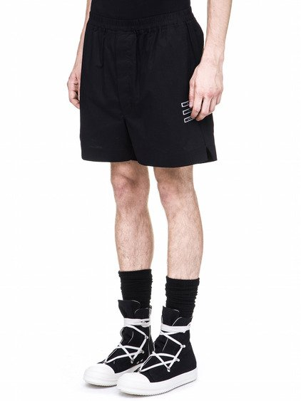 DRKSHDW BOXERS IN BLACK COTTON