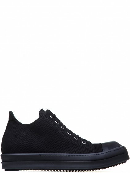 DRKSHDW LOW SNEAKERS IN BLACK