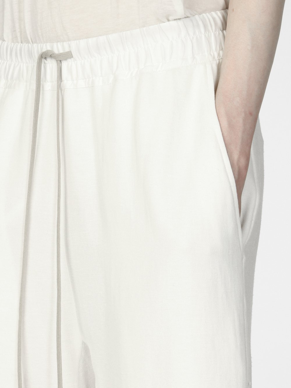 RICK OWENS - CROPPED PANTS