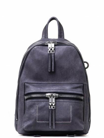 RICK OWENS MINI BACKPACK IN PURPLE