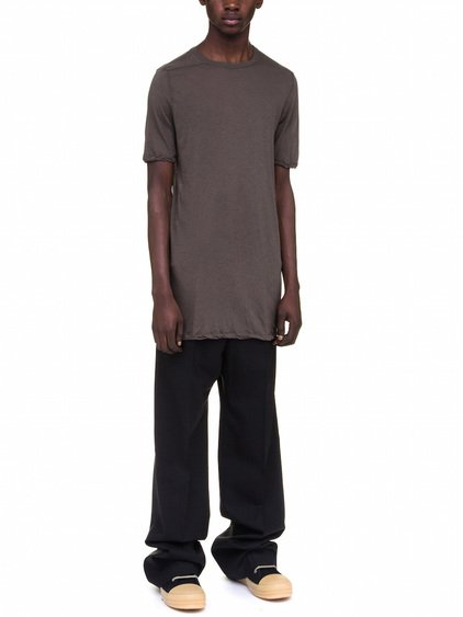 RICK OWENS LEVEL TEE IN GREY