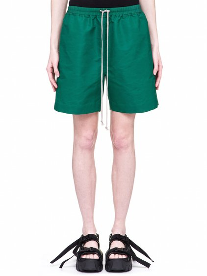 RICK OWENS OFF-THE-RUNWAY BOXERS IN WHEATGRASS GREEN