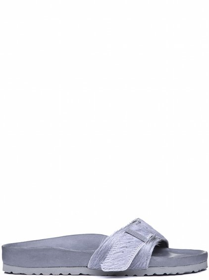 56240e58327 RICK OWENS BIRKENSTOCK MADRID SANDAL IN GREY