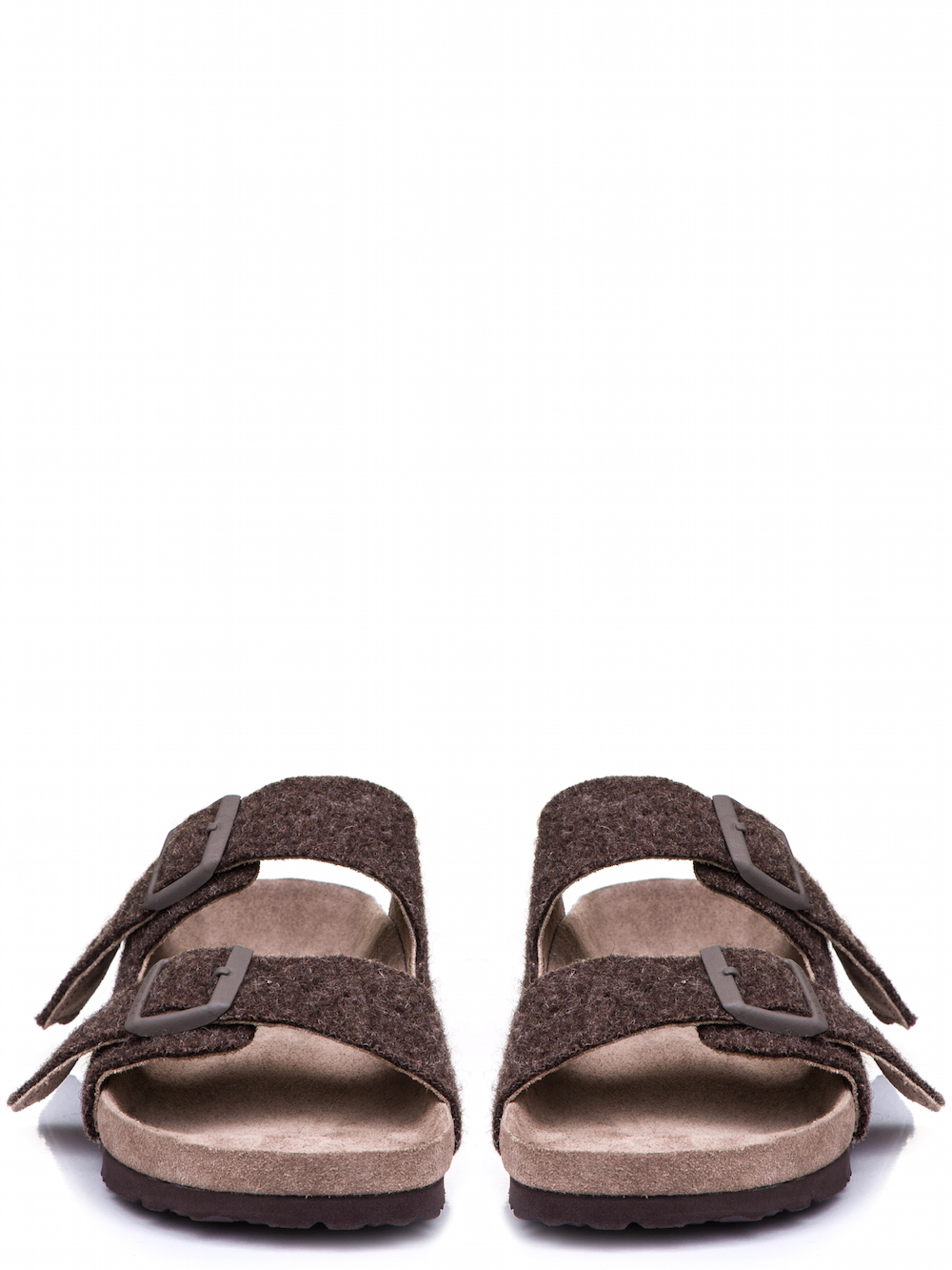 6d41726f23ee9d RICK OWENS X BIRKENSTOCK ARIZONA SANDAL IN BROWN