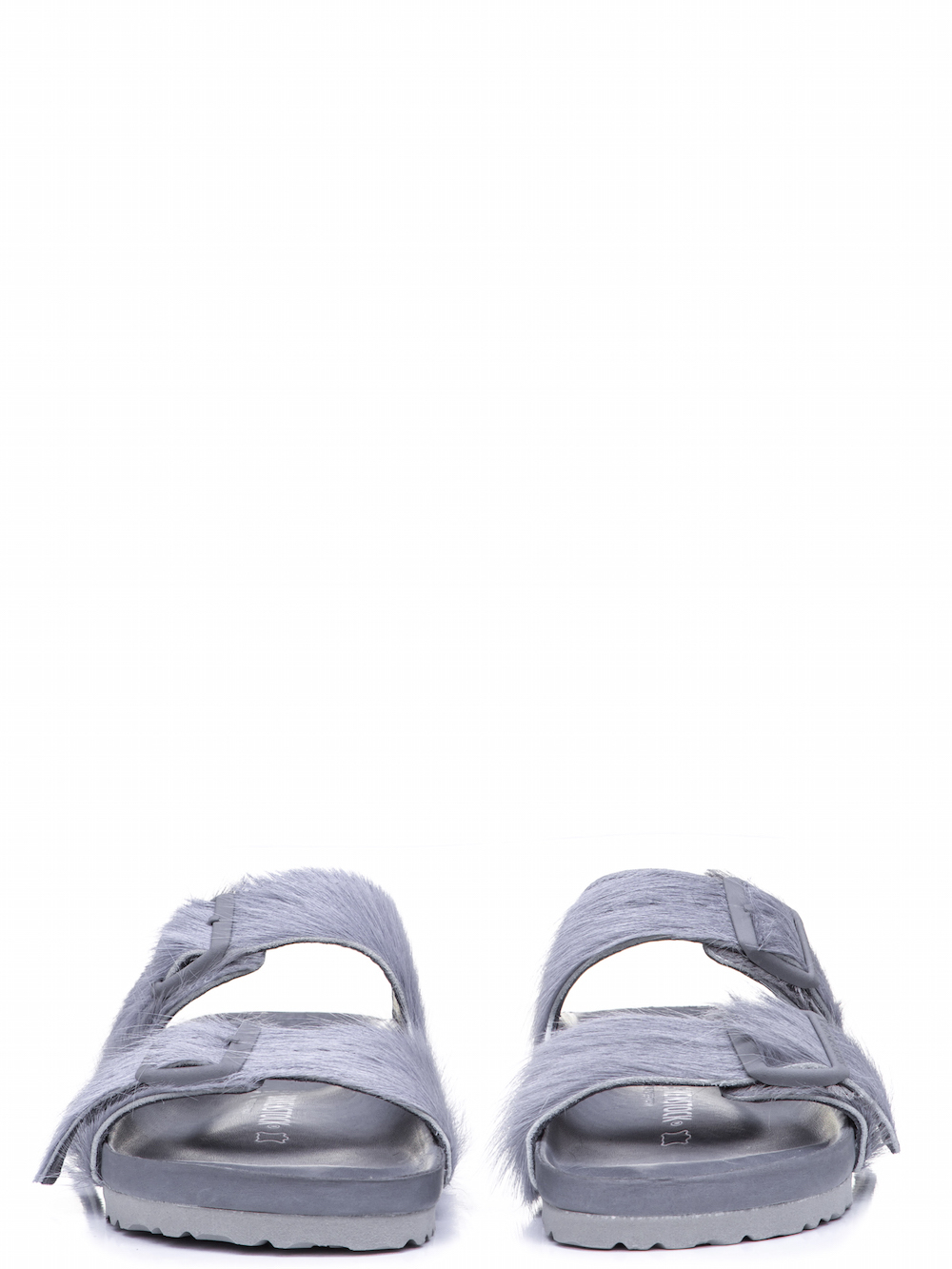 RICK OWENS X BIRKENSTOCK ARIZONA SANDAL IN GREY
