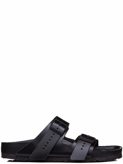 RICK OWENS BIRKENSTOCK ARIZONA SANDAL IN BLACK