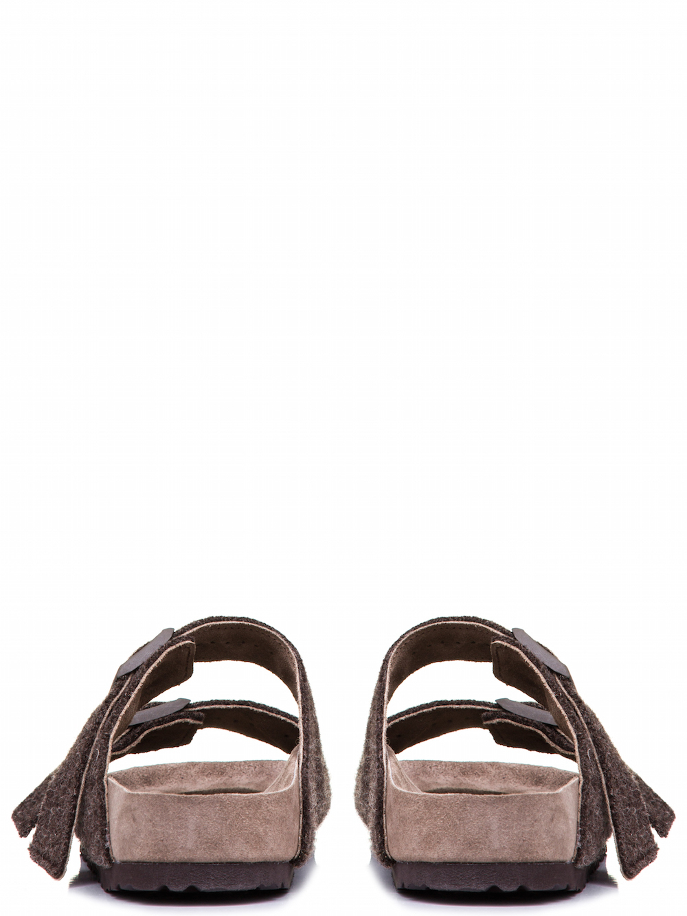 RICK OWENS X BIRKENSTOCK ARIZONA SANDAL IN BROWN