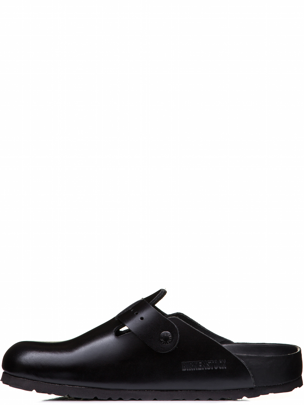 RICK OWENS X BIRKENSTOCK BOSTON CLOG IN BLACK