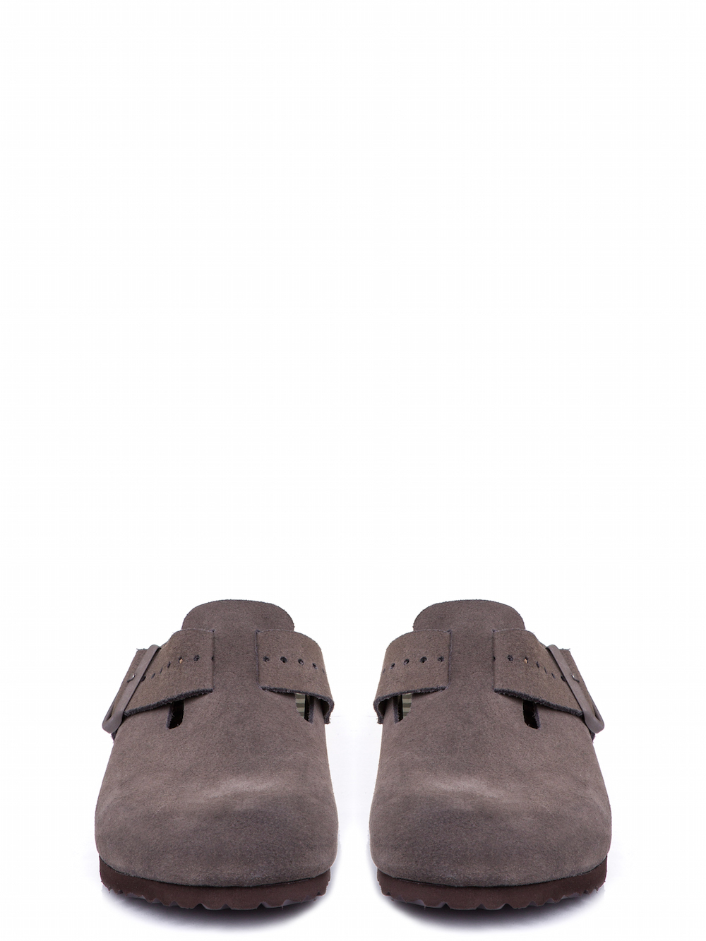 RICK OWENS X BIRKENSTOCK BOSTON CLOG IN DUST